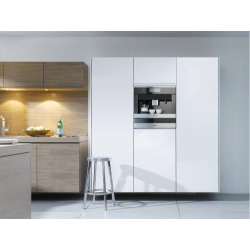 CVA 6800 - Built-in coffee machine with bean-to-cup system - the Miele all-rounder for the highest demands.