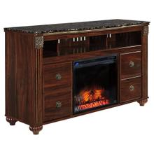 """Gabriela 59"""" TV Stand With Fireplace"""