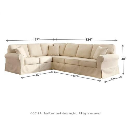 Shermyla 3-piece Sectional