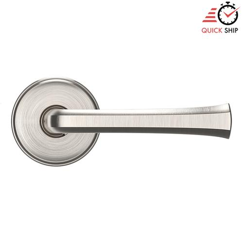 Baldwin - Satin Nickel with Lifetime Finish 5112 Estate Lever with 5075 Rose