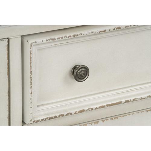 Gallery - Stevenson Manor TV Console, Distressed White