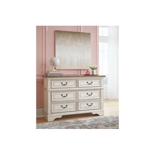 Realyn Youth Dresser Chipped White