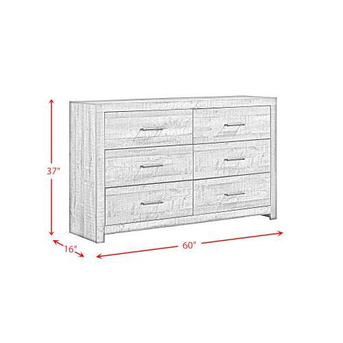 Bailey 6-Drawer Dresser