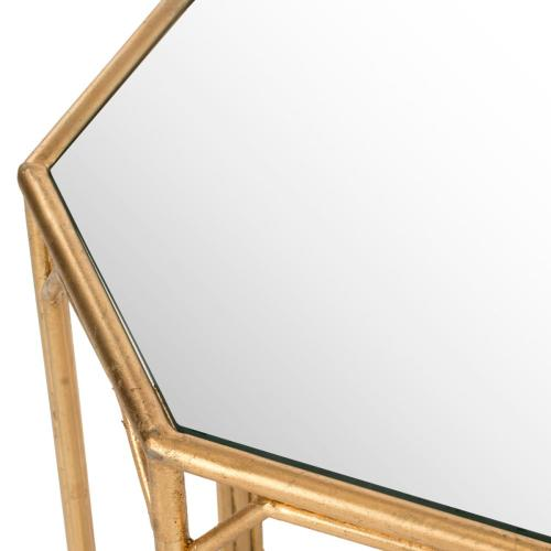 Muriel Accent Table - Gold