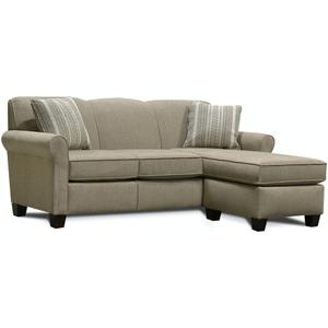 England Furniture4630-25 Angie Floating Ottoman Chaise
