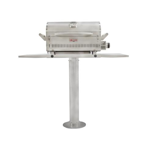 "Blaze 10"" Pedestal for the Marine Grade Portable Grill"