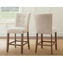 Debby Counter Chair - Beige