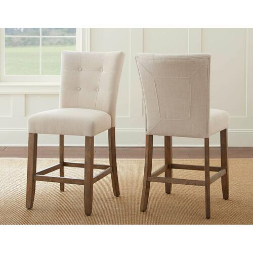 Steve Silver Co. - Debby Counter Chair - Beige