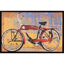 Red Bike With Star