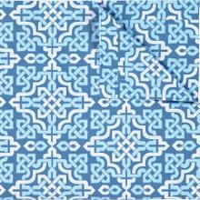 See Details - Retired Lennox Duvet Cover & Shams, BLUE, KG