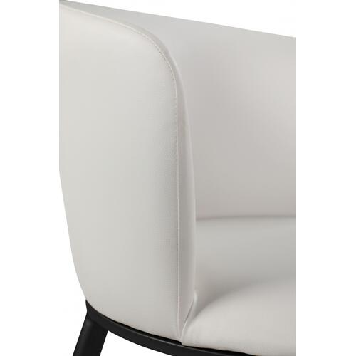 "Skylar Faux Leather Dining Chair - 23.5"" W x 23.5"" D x 30"" H"