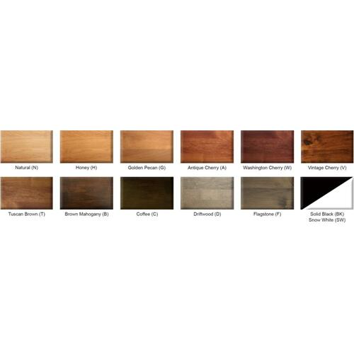Archbold Furniture - Portland 3 Drawer Nightstand