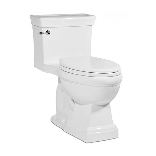 White JULIAN One-Piece Toilet