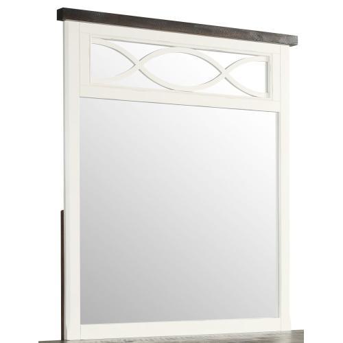 Emerald Home Mountain Retreat Mirror 2 Tone W/mirror Accent Top B601-25