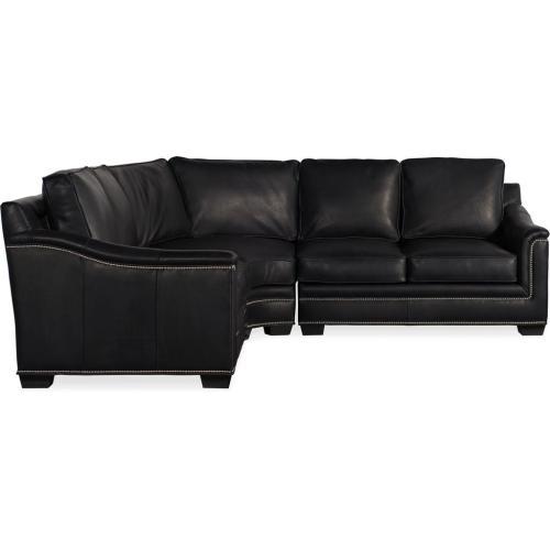 Bradington Young - Premier Collection - Randleman Leather Sectional