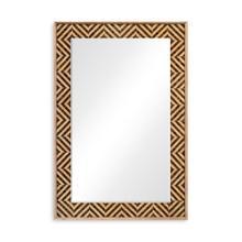 Classic Julian Herringbone mirror (Tan Tweed)
