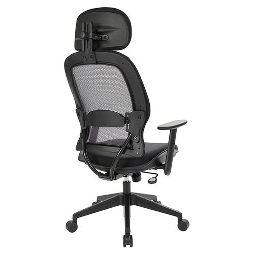 Professional Airgrid Back and Mesh Seat Chair With Adjustable Headrest