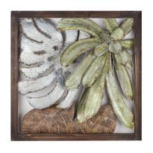 Arabinda Palm Leaves Framed Wall Decor