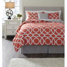 Clairette 5-piece King Comforter Set