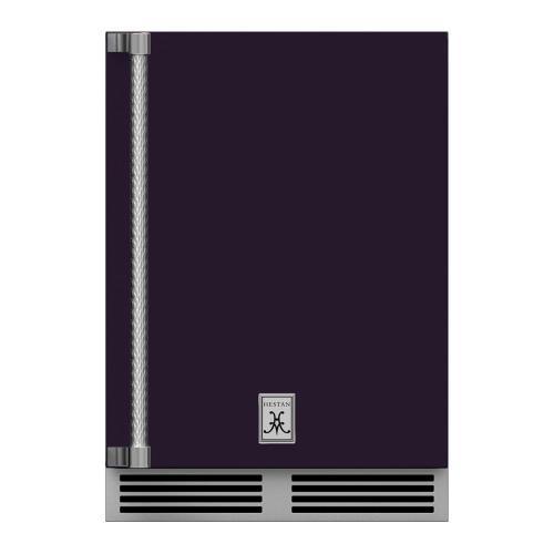 """24"""" Hestan Outdoor Undercounter Refrigerator (Solid Door) - GRSR Series - Lush"""