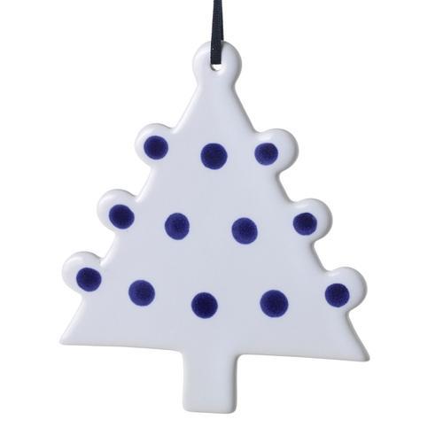 """Accent Decor - E+E Mighty Tree Ornament (Size:4.5""""x 5"""", Color:White)"""