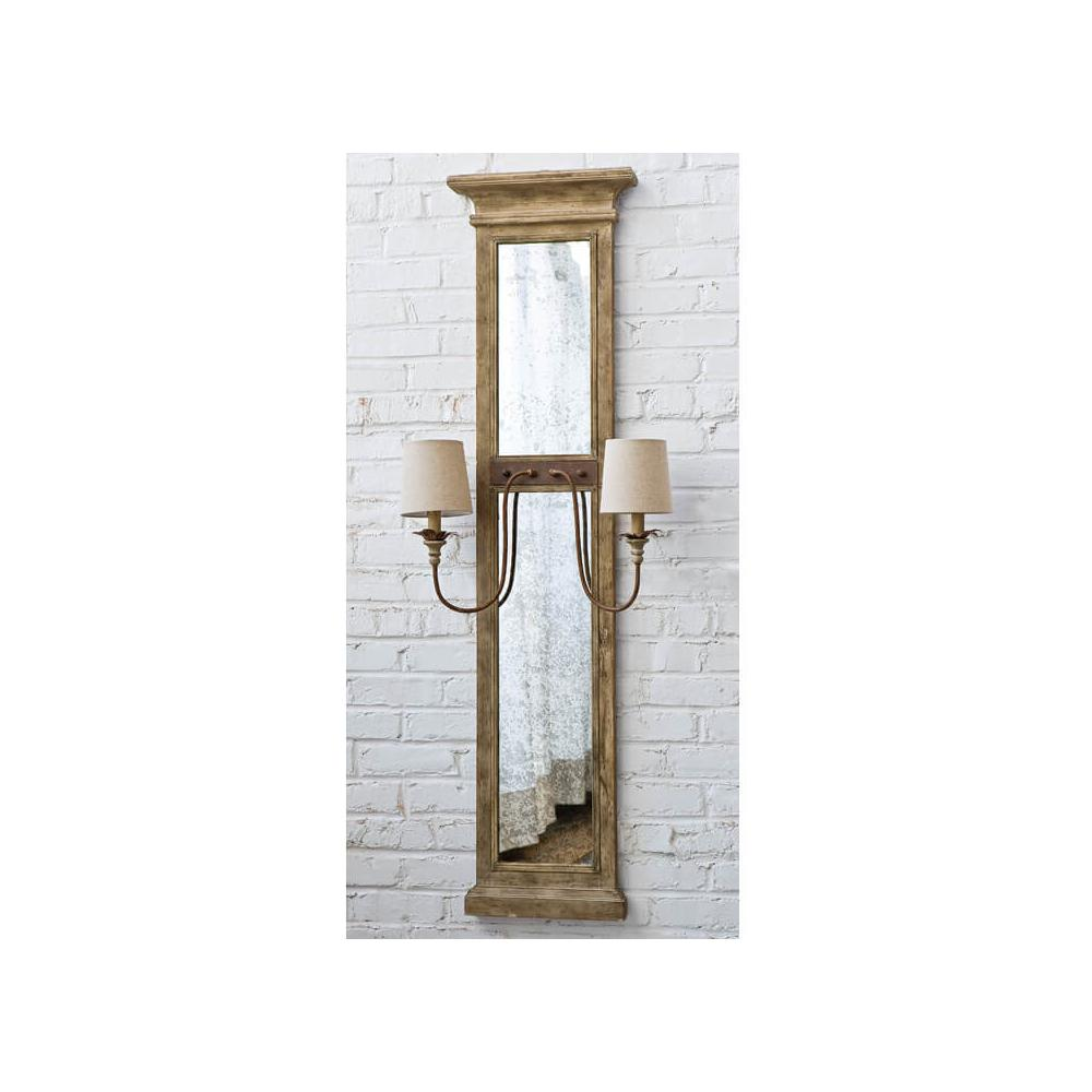 See Details - Mirror Panel Sconce