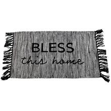 Hand Woven Bless This Home Rug