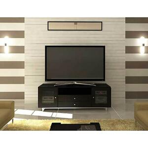 """Sanus - Charcoal AV Stand For TVs up to 80"""" and 150 lbs / 68 kg"""
