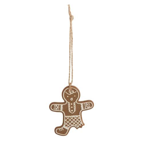 "3.25""x 0.25""x 3.75"" Gingerbread Ornament (Man Option)"