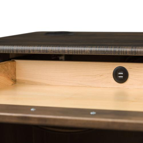 """Country Classic Collection - Mission 66"""" Executive Desk"""