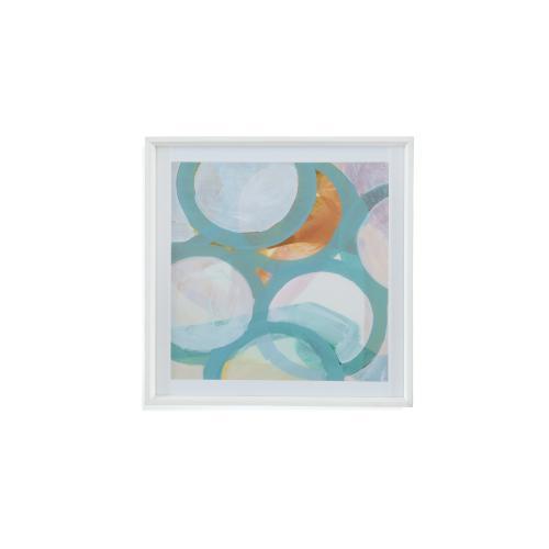 Bassett Mirror Company - Aqua Circles I