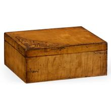 Raised celtic veneer rectangular box