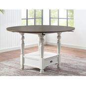 Joanna 59-inch Round Counter Table