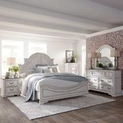 King California Panel Bed, Dresser & Mirror, Chest, Night Stand Product Image