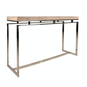 Sofa Table, Available in Weathered Brown Only