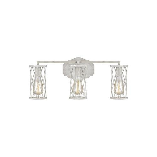 Cosette 3 - Light Vanity French Washed Oak / Distressed White Wood