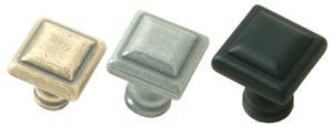 Square cabinet Knob Product Image