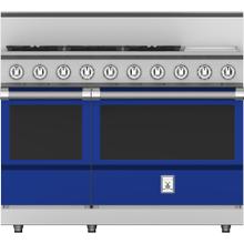 """See Details - 48"""" 5-Burner All Gas Range with 12"""" Griddle - KRG Series - Prince"""