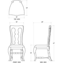 See Details - Kings Chair w/ Cushion Seat