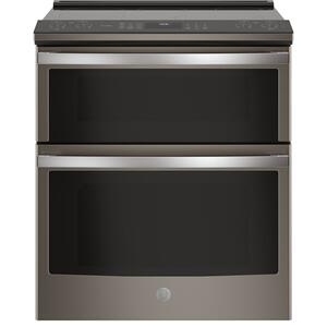 "GE Profile 30"" Smart Slide-In Electric Double Oven Convection Range"