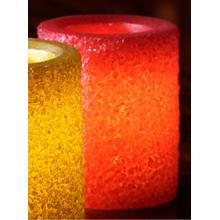 "4"" Red Ember LED Candle"
