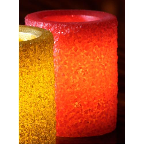 """4"""" Red Ember LED Candle"""