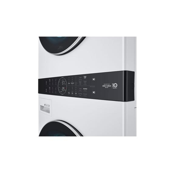 LG - Single Unit Front Load LG WashTower™ with Center Control™ 4.5 cu. ft. Washer and 7.4 cu. ft. Electric Dryer