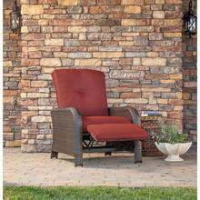Hanover Strathmere Luxury Recliner in Crimson Red, STRATHRECRED
