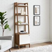 "Bixby 21"" Bookshelf in Walnut White"