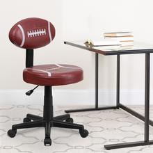 View Product - Football Swivel Task Office Chair