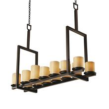 Dakota 14-Light Bridge Chandelier (Tall)