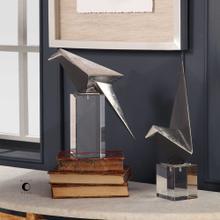Origami Bird Figurines, S/2