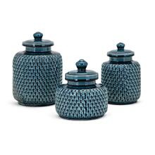Maya Lidded Containers - Set of 3