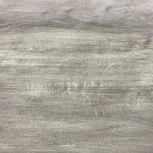 Cottage End Table - Distressed White and Gray